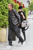 Gavin Rossdale and Gwen Stefani  leaving E...