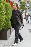 Gavin Rossdale  leaving E Baldi restaurant beverly...