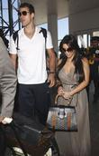 petite kim kardashian is dwarfed by new husband kri