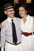 Will Pomerantz and Saundra Santiago Opening night after...