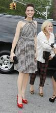 Mandy Moore and New York Fashion Week