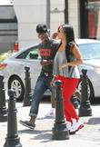 Ne-Yo goes for a walk on Rodeo Drive...