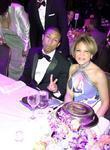 Pharrell Williams, Tamara Harris Robinson, co-chair, of uncf...
