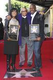 Bebe Winans, Quincy Jones and Star On The Hollywood Walk Of Fame