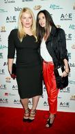 Amanda de Cadenet and Demi Moore A&E Television...