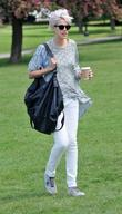 Agyness Deyn out and about in Primrose Hill...