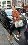 Alesha Dixon  arriving at the BBC Radio...