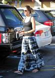Alessandra Ambrosio goes grocery shopping at Pavilions in...