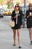 Alexa Chung is seen out and about with...