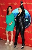 Alicia Keys  unveils her wax figure at...