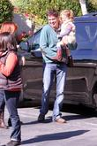 Alexis Denisof and his daughter Satyana Denisof in...