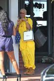 Amber Rose  out shopping at Fred Segal...