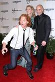 Carrot Top and Andre Agassi