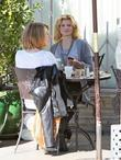 Angel McCord seen having lunch at Urth Cafe...