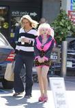 Angelyne and a friend return to her pink...