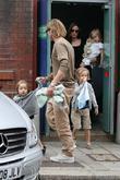 Brad Pitt, Angelina Jolie and Shiloh