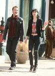 James Van Der Beek and Krysten Ritter