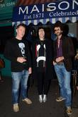Noel Fielding, Frankie Poullain and The Darkness