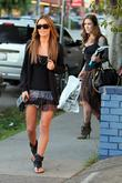 Audrina Patridge filming a scene from Audrina's new...