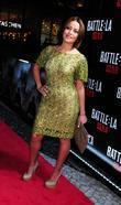 Adriana Fonseca Red carpet screening of 'Battle: Los...