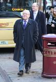 Malcolm Hebden  The funeral of Betty Driver...