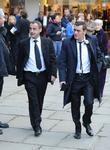 Michael Le Vell and Chris Gascoyne