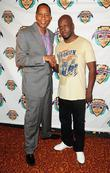Mark Curry and Wyclef Jean