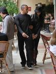 Nicole Scherzinger and Lewis Hamilton