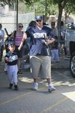 Kevin Federline and Sean Preston