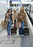 Brooke Vincent and Sacha Parkinson  catch a...