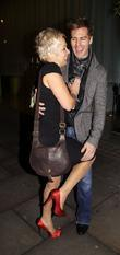 Denise Welch and Matt Evans at the Dancing...
