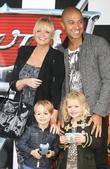 Emma Bunton, Jade Jones and son Beau Cars...