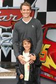 James Cracknell with his son Cars 2 Premiere...