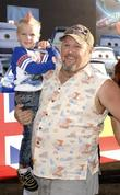 larry the cable guy the los angeles premiere of car