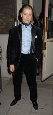 Freddie Fox,  at the Cause Celebre press...
