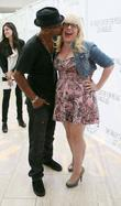 Shemar Moore and Kirsten Vangsness