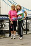 Cheryl Baker & Jay Aston Celebrity runners for...
