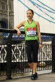 Elen Rivas Celebrity runners for the London Marathon...