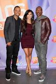 VJ Terrence J, VJ Rocsi and Eddie Murphy...