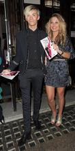 Harry Derbidge and Samantha Faiers Press night for...