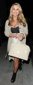 Samantha Faiers leaving Runway nightclub. London, England