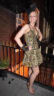 Anna Godek Celebrities outside Krystle nightclub in Dublin...