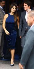 Penelope Cruz and Rob Marshall