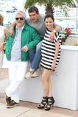 Antonio Banderas, Elena Anaya and Pedro Almodovar