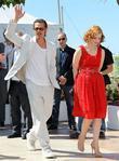 Brad Pitt and Jessica Chastain