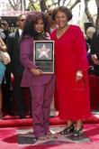 Recording artist Chaka Khan with her mother Sandra...