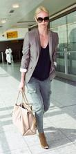 Charlize Theron  arriving in Heathrow Airport London,...