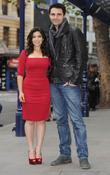 America Ferrera and Darius Campbell Chicago photocall outside...