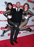 Chris Sullivan and dancers Chicago's 15th Broadway Anniversary,...
