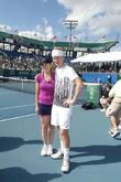 Chris Evert and John Mcenroe